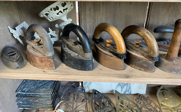 Group of 19th Century Irons