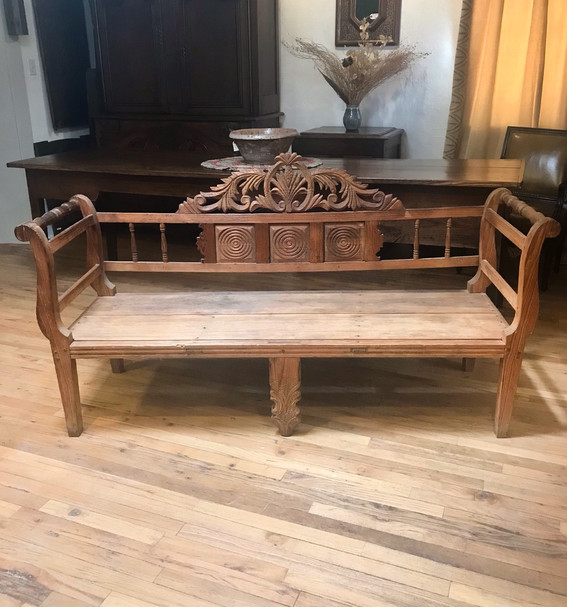 19th Century Mexican Bench