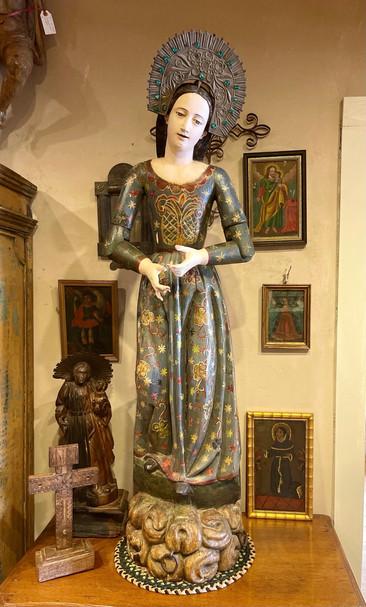 Spanish Virgin dating 1790-1820
