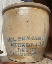 Early American Stoneware Crock