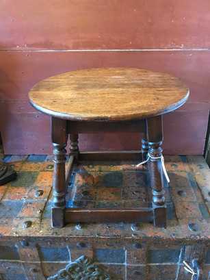 19th Century Small Round Table