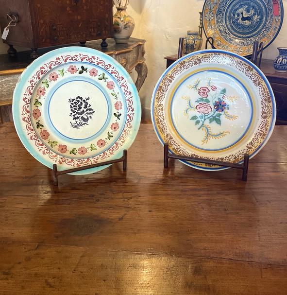 19th Century Portuguese Large Plates