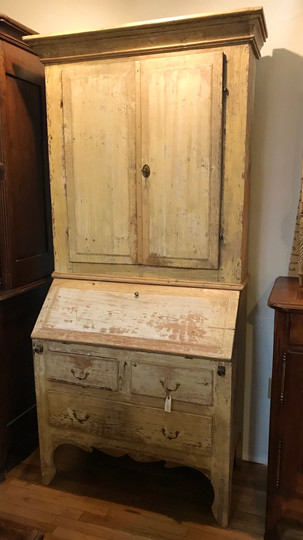 Swedish Painted Secretary