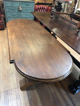 Top of 19th Century French Dining Table