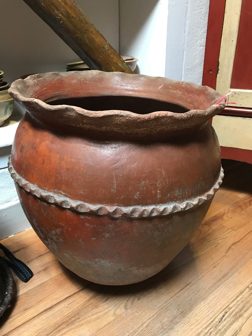 Large Guatemalan Ceramic Vessel