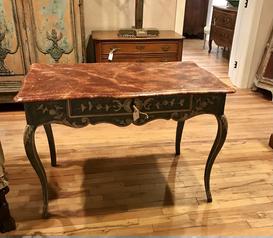 18th Century Painted Italian Desk