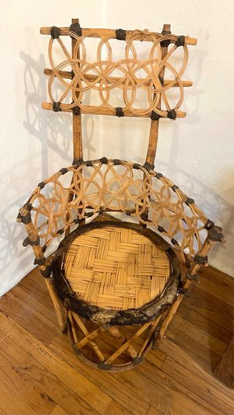 Late 19th Century Huichal Shaman's Chair