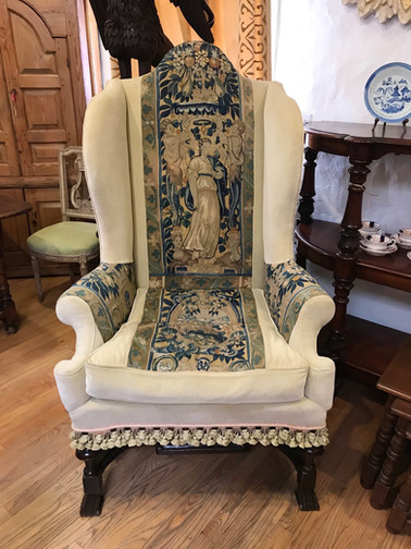 18th Century Wing Chair
