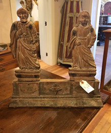 Carved Wood of Peter and Paul