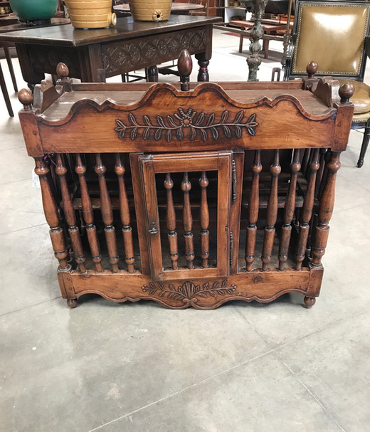 19th Century French Hanging Kitchen Cabinet
