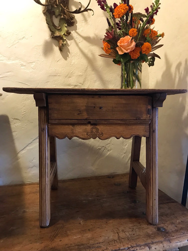 Small Sabino 19th Century Mexican Table