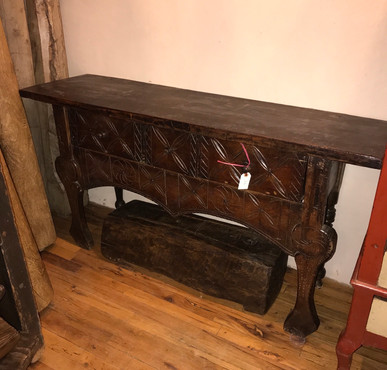Carved Nahuala/ Spirit Table