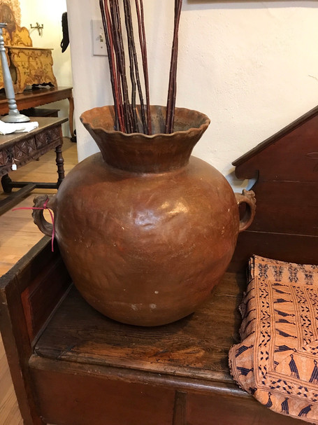 Rare Guatemalan Ceramic Vessel