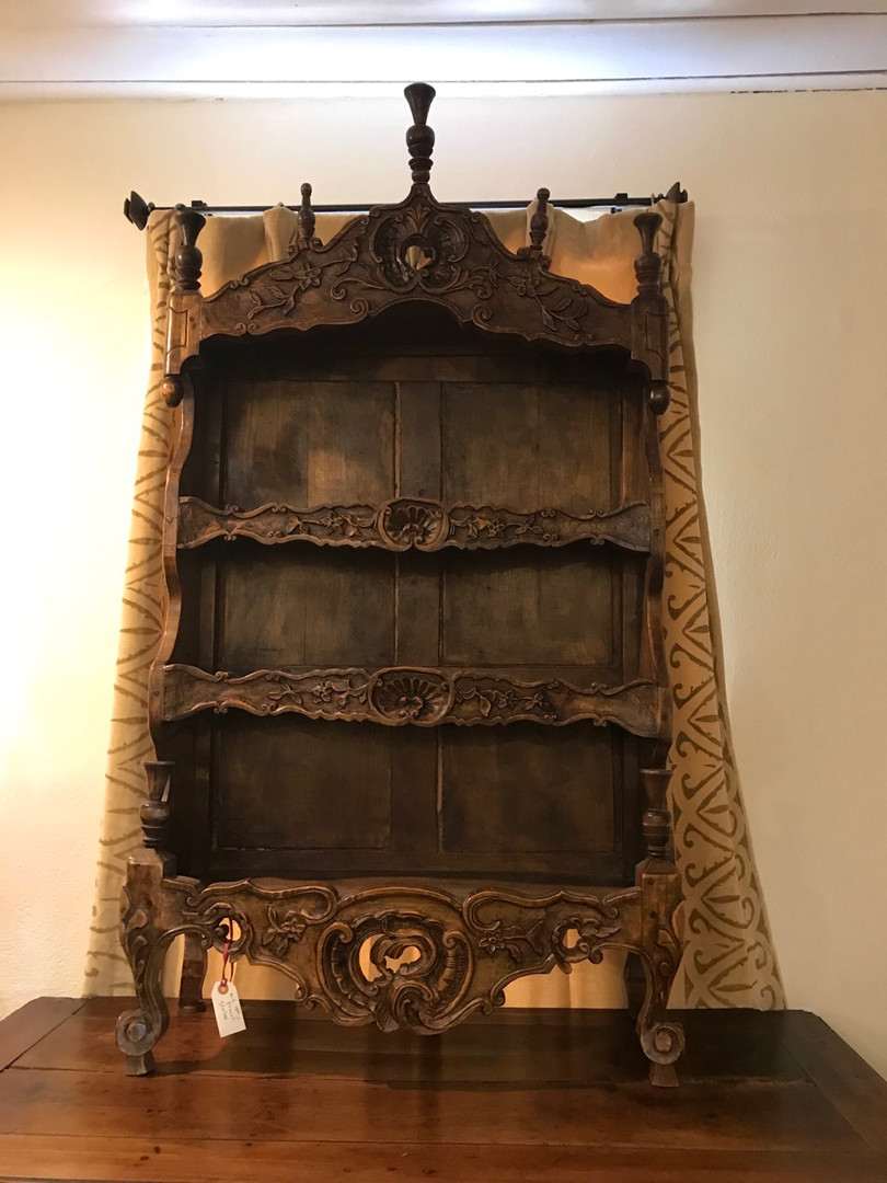 Mid 19th Century French Carved Shelves