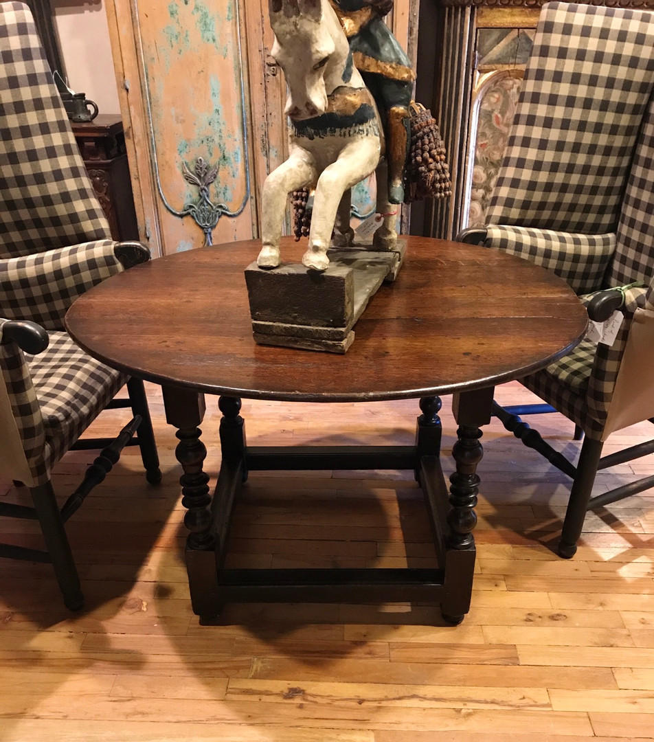 English Round Table dates 1820's