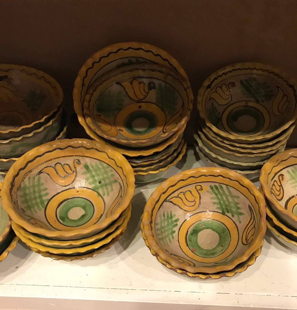 Collection of Early Guatemalan Ceramic Bowls