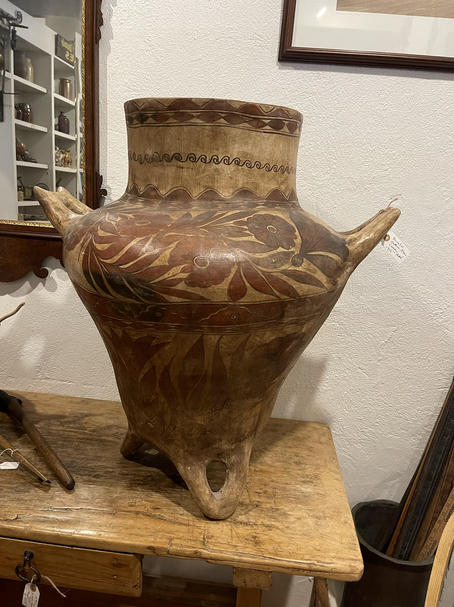Early 20th Century Decorated Guerrero Vessel