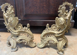 19th Century French Andirons