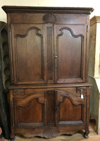 18th Century French Linen Press