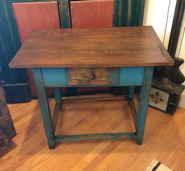 19th Century Swedish Painted Side Table