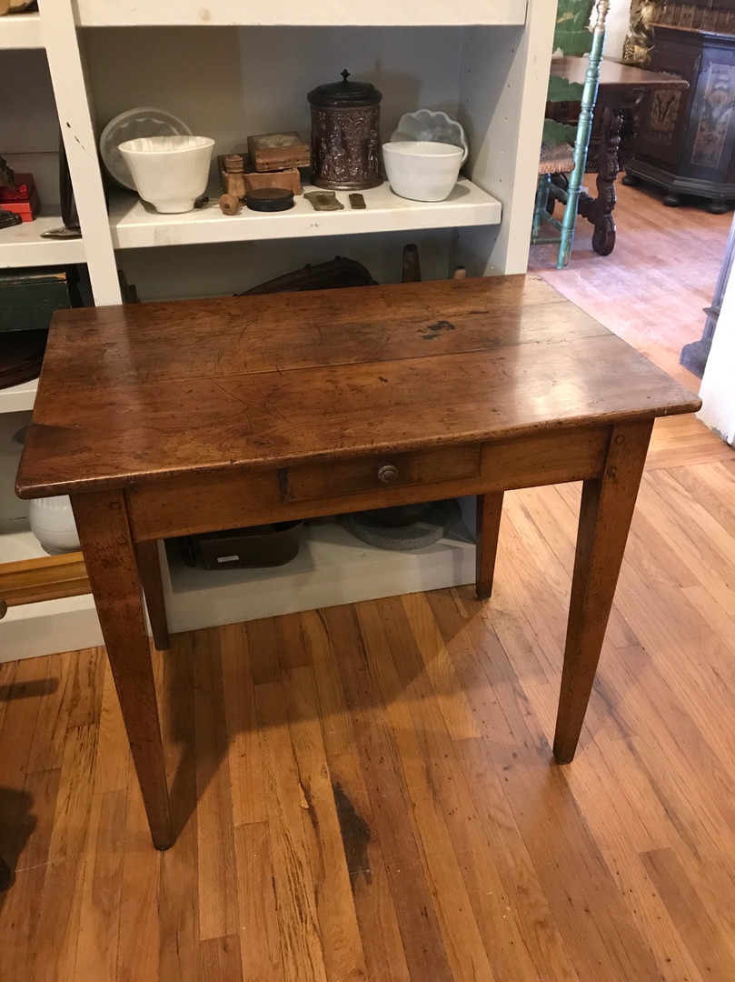 French Side Table with Draw which Dates Mid-1800s