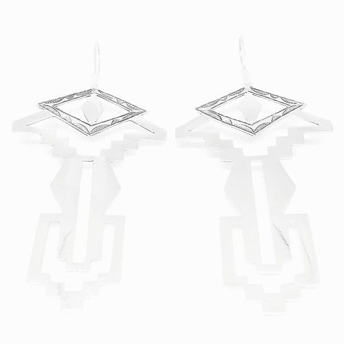 II. THE EYE OF KAHENA EARRINGS │STERLING SILVER