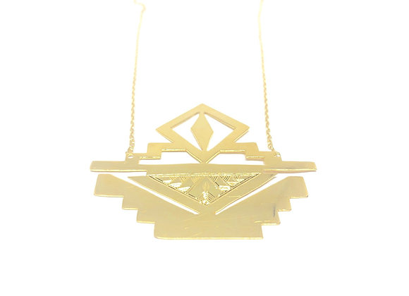 IV. THE THRONE NECKLACE│18 KT GOLD PLATE