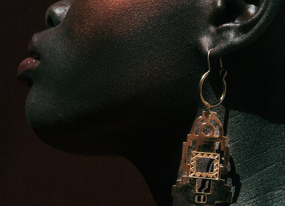 Temple of Light Earrings