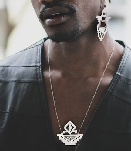 IV. THE THRONE NECKLACE│STERLING SILVER