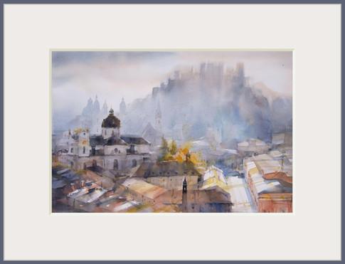 Original Aquarell  78 x 56 cm