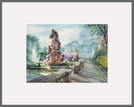Original Aquarell  58 x 46 cm