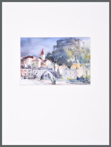 Original Aquarell  30 x 40 cm