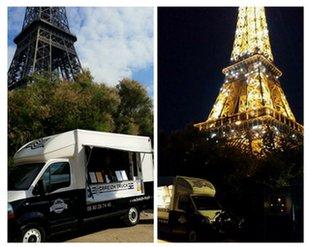Fête de la gourmandise au pied de la Tour Eiffel