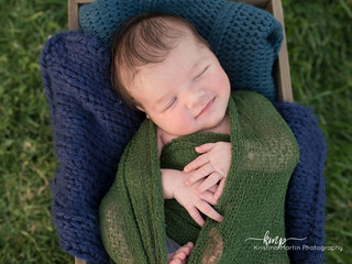Xander - Outdoor Newborn Session, Antelope, CA