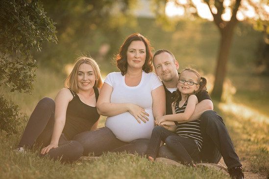 Maternity Session With Older Children