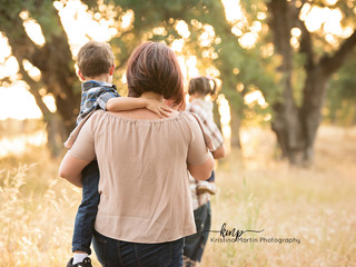 Outdoor Family Session - Roseville CA
