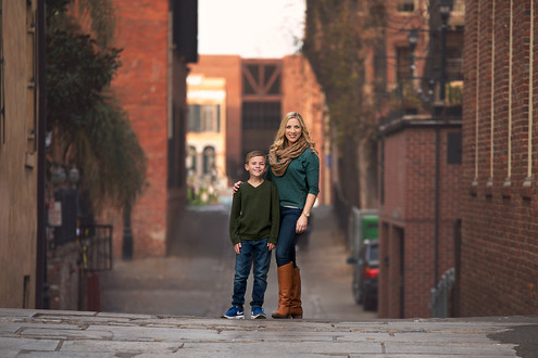 Mother and Son Photo Session