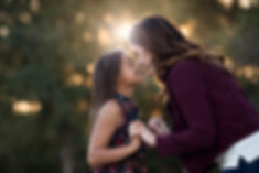 Mother and daughter session at VeteransMemorial Park in Roseville CA