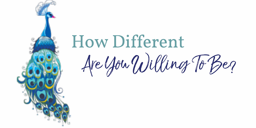 How different are you willing to be?