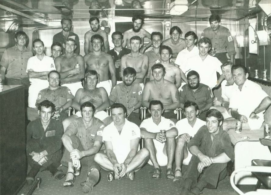 HMAS Supply crew 1973