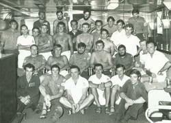HMAS Supply crew 1973