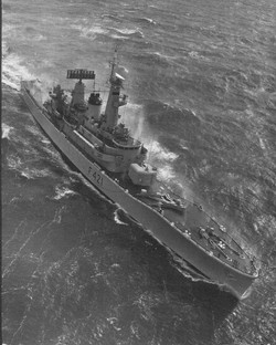 HMNZS Canterbury 1973