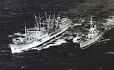 HMS Supply + HMNZS Otago