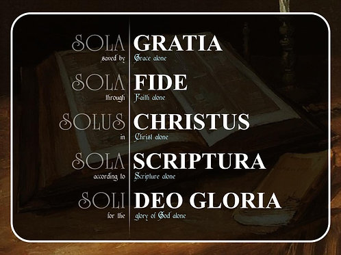 The Five Solas