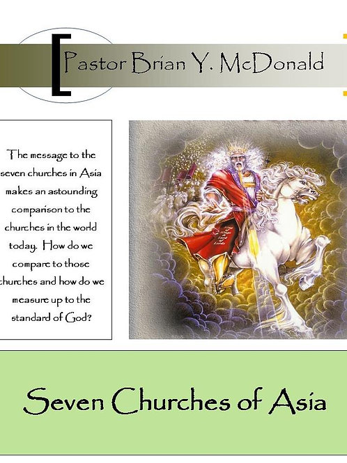 Seven Churches of Asia Study Notes