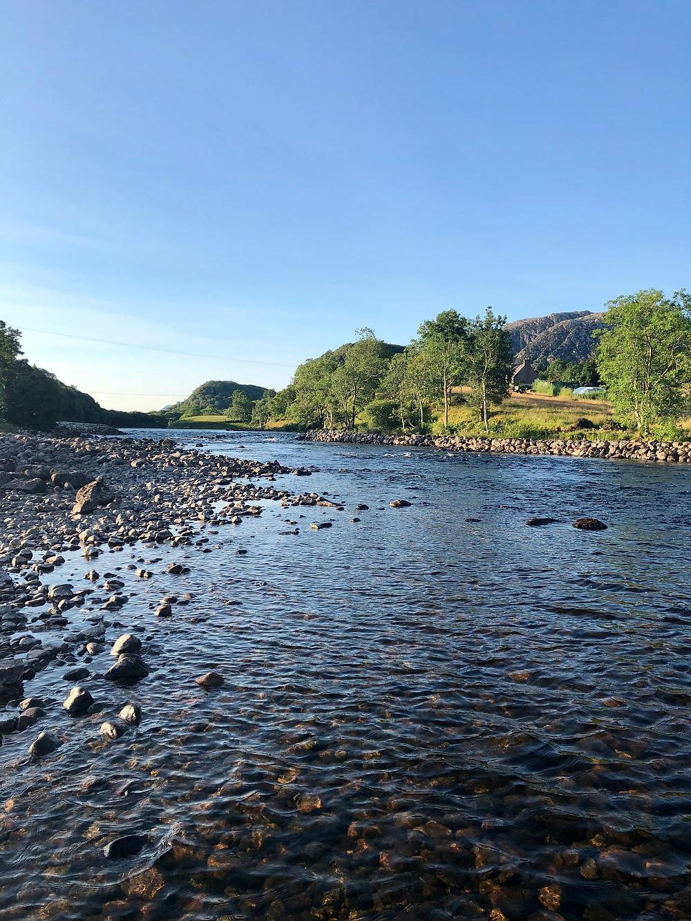 The Tee Pool on the River Ewe