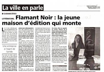 FLAMANT NOIR