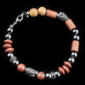 Oak Wood Buddha bracelet