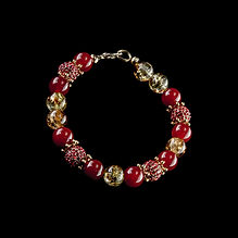 Golden Raspberries women's bracelet