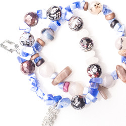 "Women's azure ""hope and a dream"" bracelet"